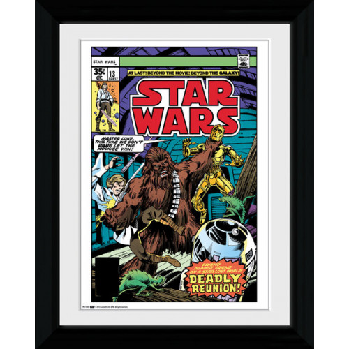 Star Wars Comic Cover Framed Print