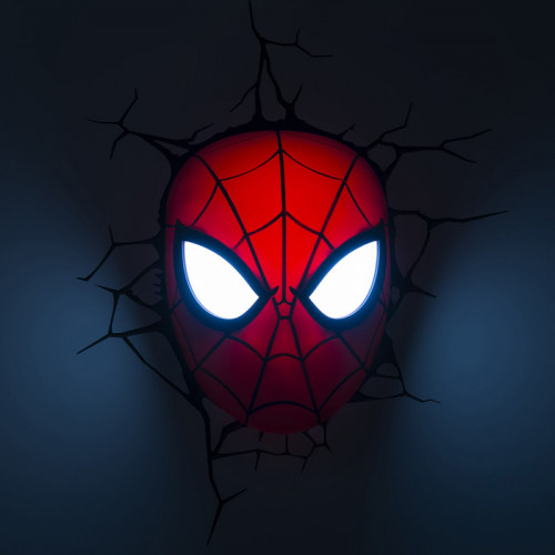 Marvel spider man 3d led wall light spider man 3d wall light aloadofball Images