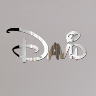 David Disney Mirror Sign