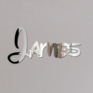 James Disney Mirror Sign