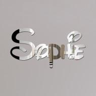 Sophie Disney Mirror Sign