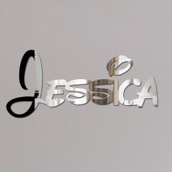 Jessica Disney Mirror Sign