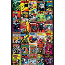 DC Comics Batman Comic Covers Framed Wall Art