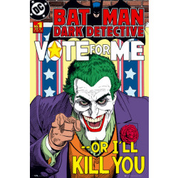 DC Comics Batman Dark Detective Front Cover Framed Wall Art