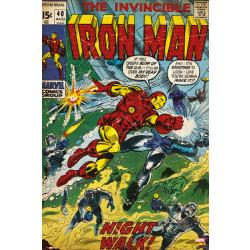 Marvel Iron Man Comic Cover Framed Wall Art
