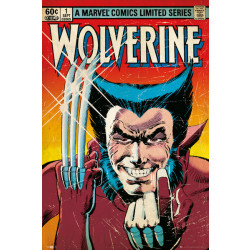 Marvel Wolverine Comic Cover Framed Wall Art