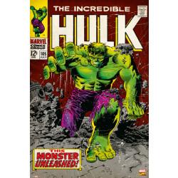Marvel Hulk Front Cover Framed Wall Art