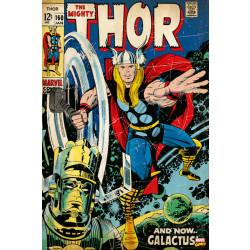 Marvel Thor Comic Cover Framed Wall Art