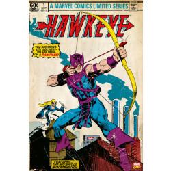Marvel Hawkeye Comic Cover Framed Wall Art