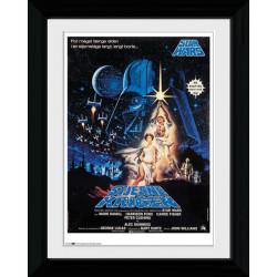 Star Wars Denmark Framed Collectible Movie Print