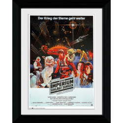 Star Wars German Framed Collectible Movie Print