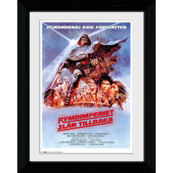 Star Wars Sweden Framed Collectible Movie Print