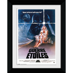 Star Wars France Framed Collectible Movie Print
