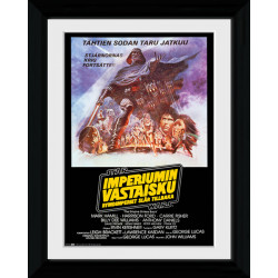Star Wars Finland Framed Collectible Movie Print