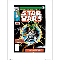Star Wars Issue 1 Comic Cover Framed Print