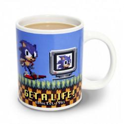 Sonic Get a Life Mug