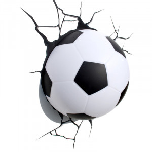 3D Football LED Wall Light