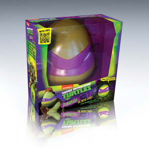 3D Teenage Mutant Ninja Turtle Donatello Wall Light