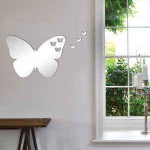 Personalised Mirrored Acrylic Butterfly Mirror