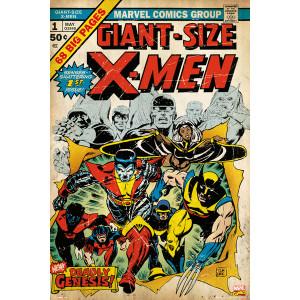 Marvel X-Men Comic Cover Framed Wall Art