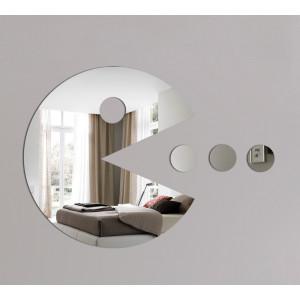 Pac - Man Style Acrylic Mirror