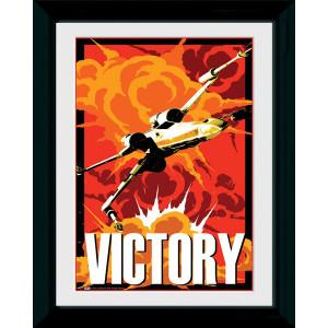 Star Wars Framed Collectible Propaganda Art