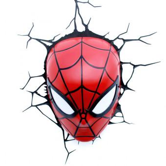 Spider-Man 3D Wall Light