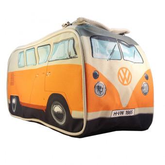 VW Camper Van Wash Bag Orange