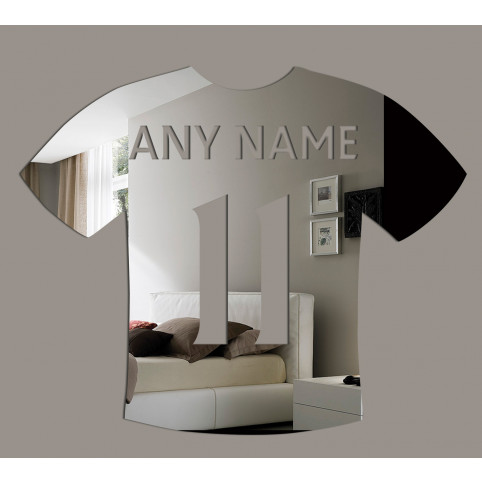 Personalised Football Shirt Mirror