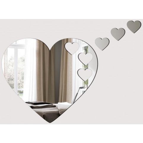 Acrylic Heart Mirror