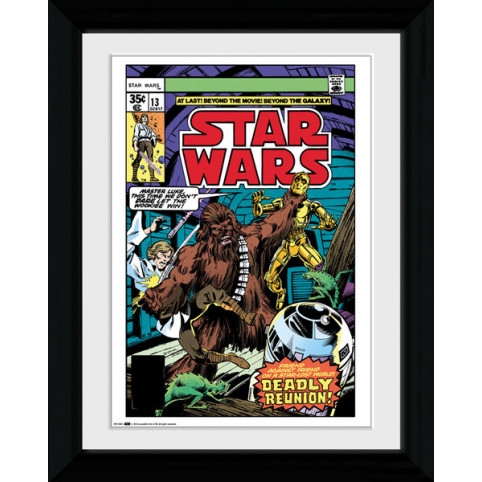 Star Wars Comic Cover Framed Print